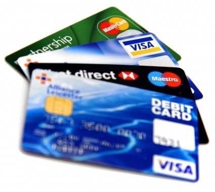 credit card, card print